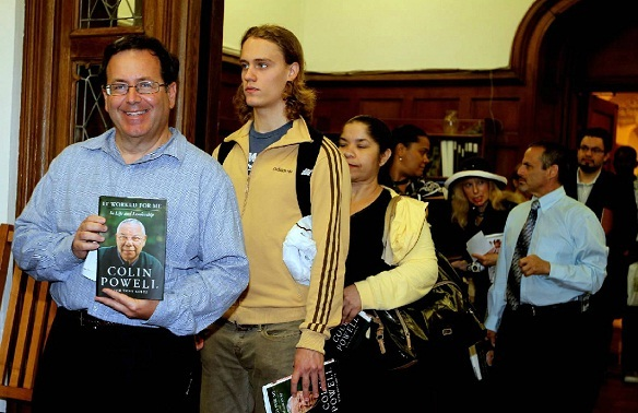 colin powell worked for me book signing ccny