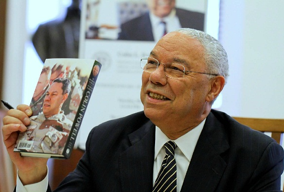 colin powell worked for me book signing