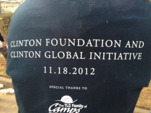 Volunteering with the Clinton Global Intiative's Day of Action