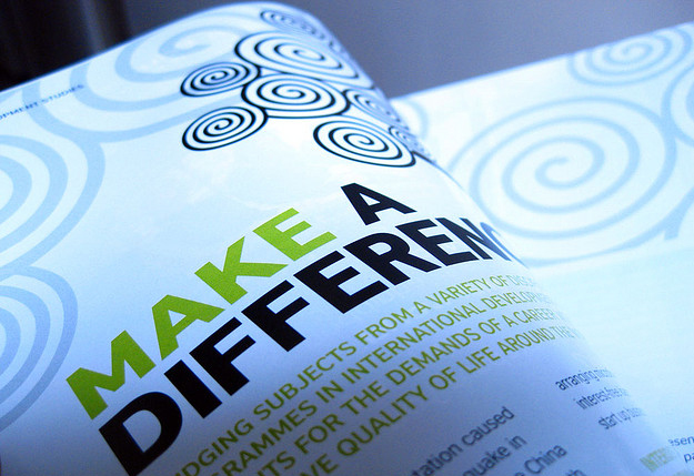 Make a Difference? Photo by Ind(yeah), courtesy Creative Commons/Flickr.