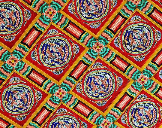 Traditional Korean Pattern: courtesy Dan Cheong, Creative Commons, Flickr.com