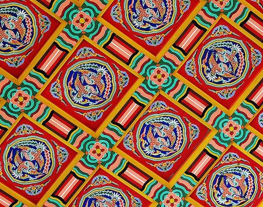 Traditional Korean Pattern: courtesy Dan Cheong, Creative Commons, Flickr.com