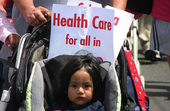 Health-care march. Photo by Neil Parekh/SEIU Healthcare 775NW; courtesy Creative Commons