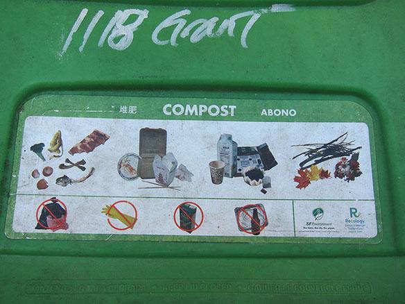 San Francisco compost bin. Photo license: Creative Commons.