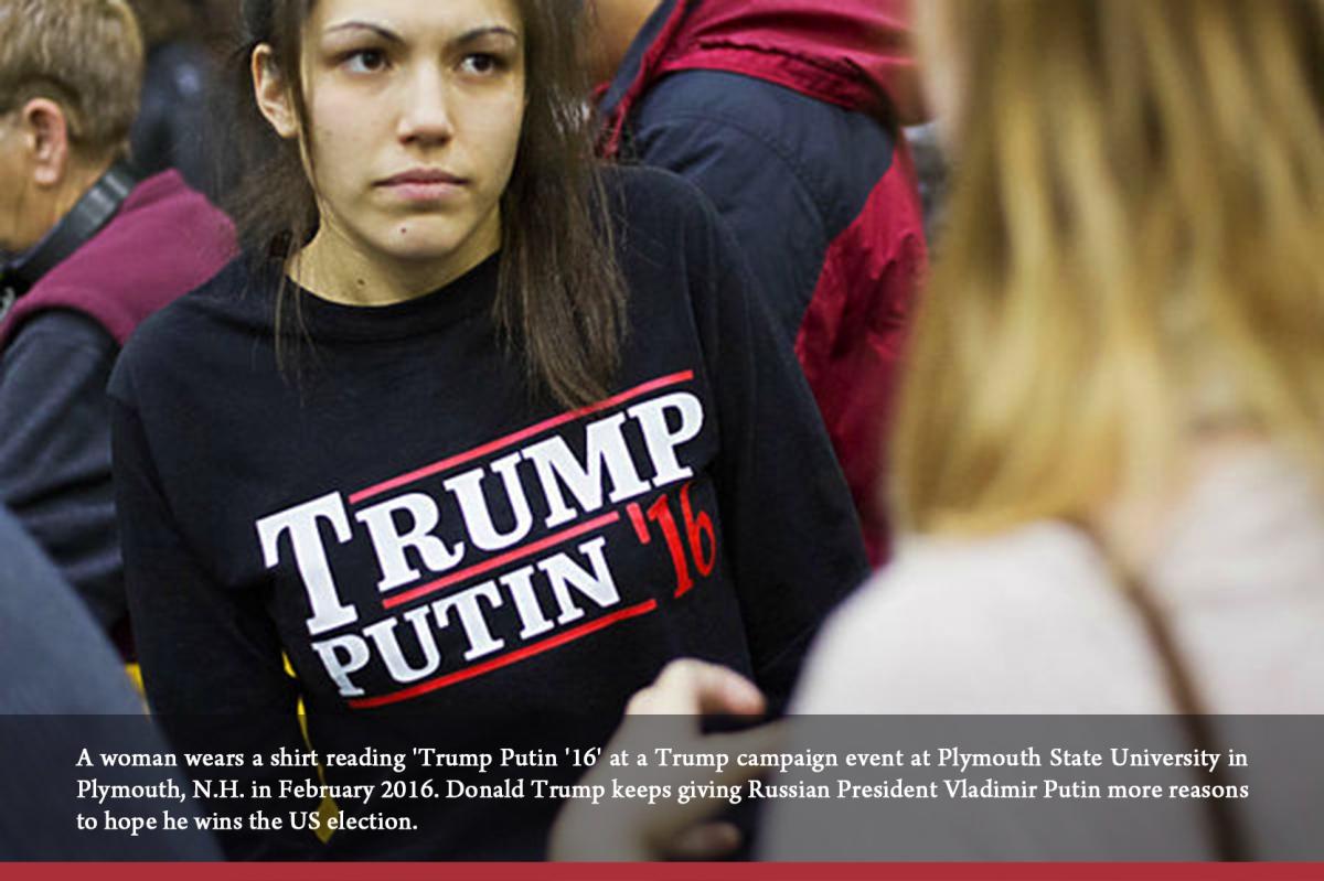What Trump's flirtation with Putin signals toEurope